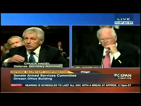 Hagel: Iran's Government Is 'Elected, Legitimate'