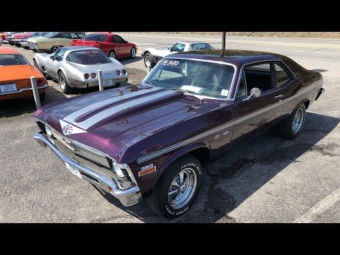 Test Drive 1972 Chevy Nova $14,900 Maple Motors #546