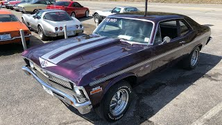 Test Drive 1972 Chevy Nova $14,900 Maple Motors #546