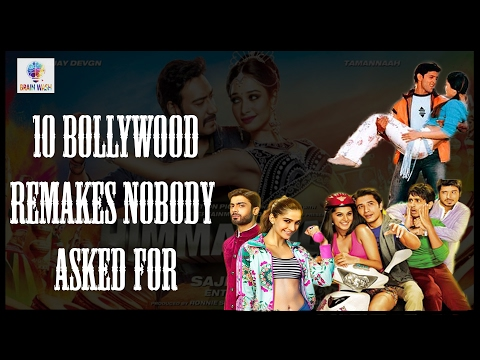 10 Bollywood Remakes Nobody Asked For