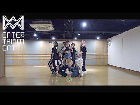 오마이걸(OH MY GIRL)_살짝 설렜어 (Nonstop) Dance Practice Video
