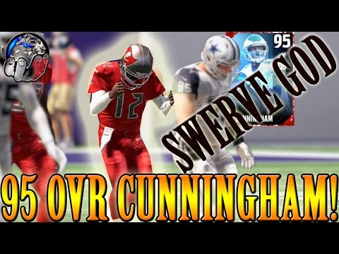 95 OVR RANDALL CUNNINGHAM IS A GOON | SWERVE? YES PLEASE! | MADDEN 17 ULTIMATE TEAM