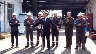 """Работники мариупольской """"Азовстали"""" не сделали СУГС для Порошенко"""