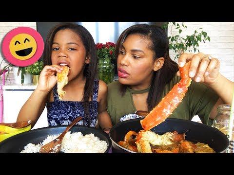 gabonese-seafood-gumbo-soup-mukbang-shout-outs┃la-recette-est-dans-la-description..