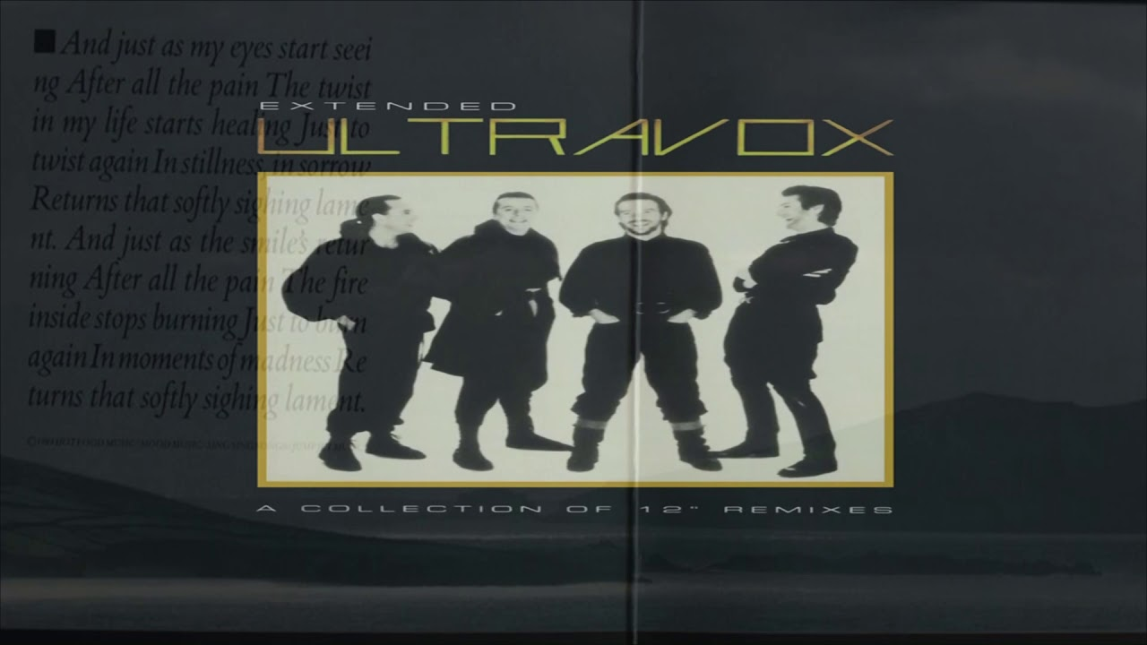 Ultravox -  Lament (Extended Mix)