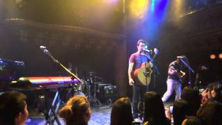Andy Grammer's encore of - We Found Love - Live in San Francisco 1/15/2012