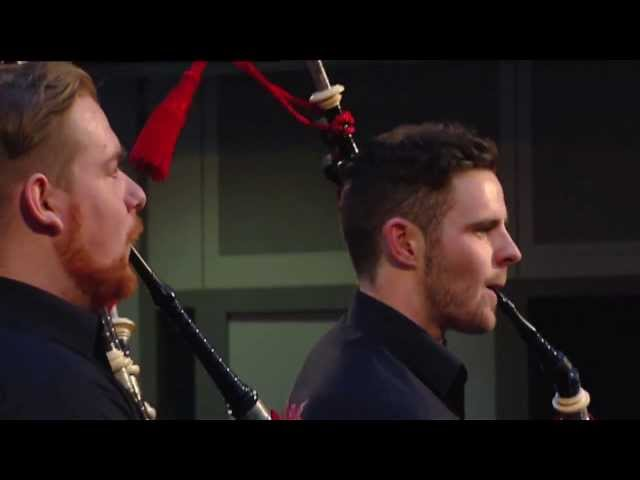 Red Hot Chilli Pipers cover Avicii's Wake Me Up for the Radio 1 Breakfast Show Travel Video