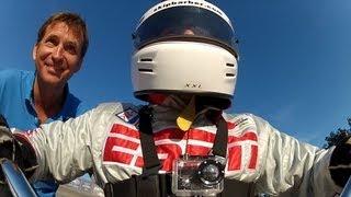 video thumbnail of Riding Big Wheel Down Corkscrew at Laguna Seca