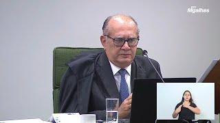 """""""A partir das 15h30, já estava embriagado"""", diz Gilmar Mendes sobre Janot"""