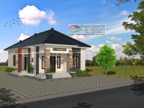 Desain Rumah Minimalis Lantai 1 Modern House 8x15 3 K Tidur Youtube