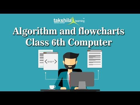 CBSE Class 6 Computer | Algorithm and flowcharts | ICSE | NCERT Solutions |  CBSE Syllabus