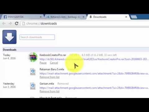 Cara Mendownload File Di www.4Shared.com