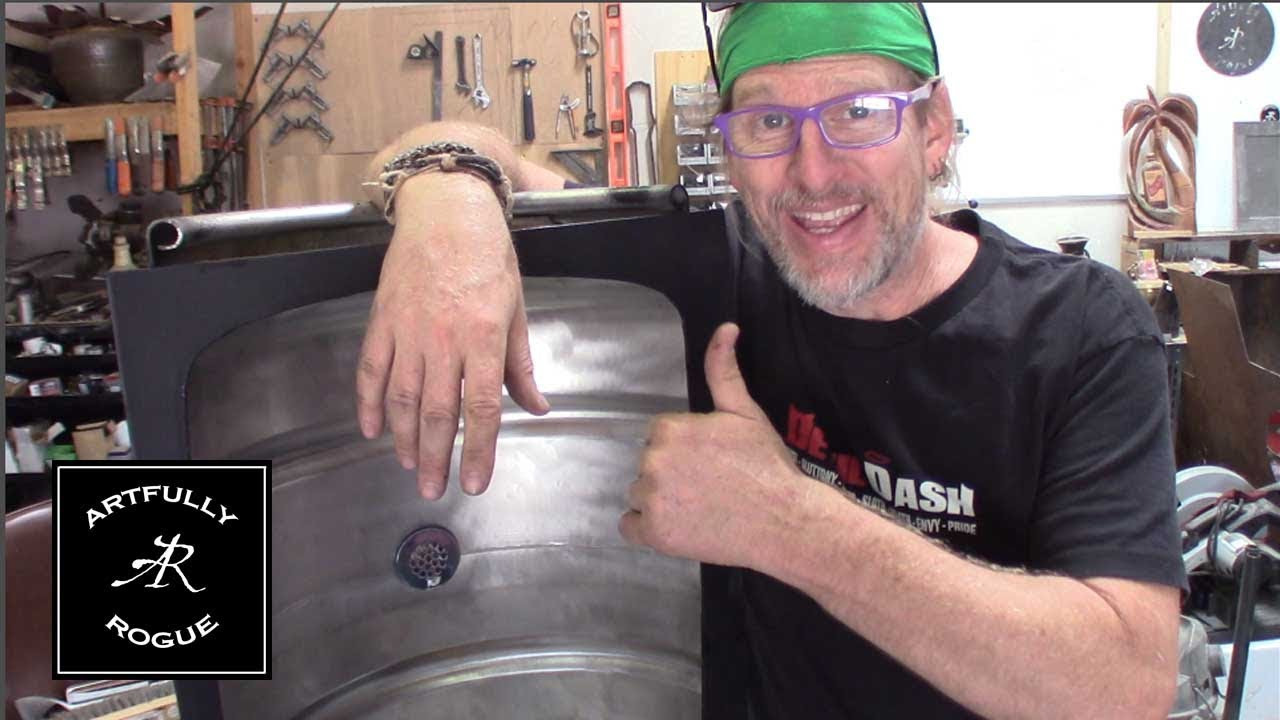 Charmant How To Build A Beer Keg Sink