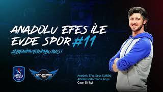 Supplementler Partnerliğinde Anadolu Efes ile Evde Spor #11