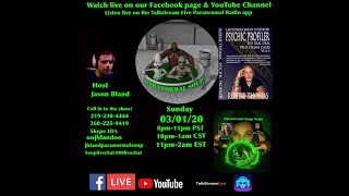 Paranormal Soup Ep 215 guest Psychic Profiler Robbie Thomas