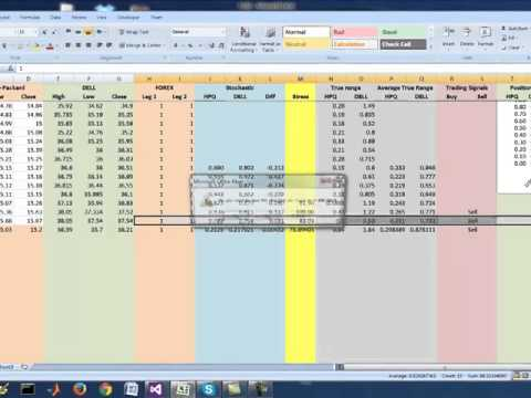 Trading signals excel