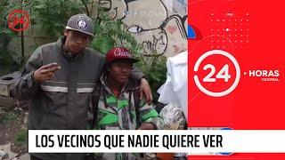 Reportajes 24: Caleta Los Héroes, los vecinos de La Moneda que nadie quiere ver