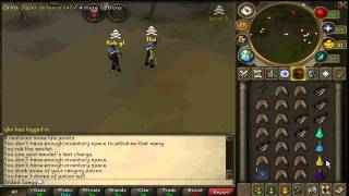 40 Defence Handcannon Pk Commentary | Gilded Swagg | Runescape 2012 | 83 Range 44 Prayer