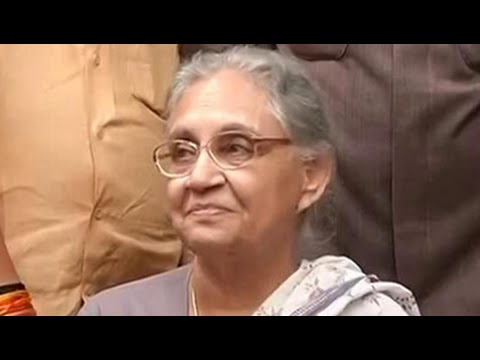 Finally, official. Sheila Dikshit is running for UP Chief Minister