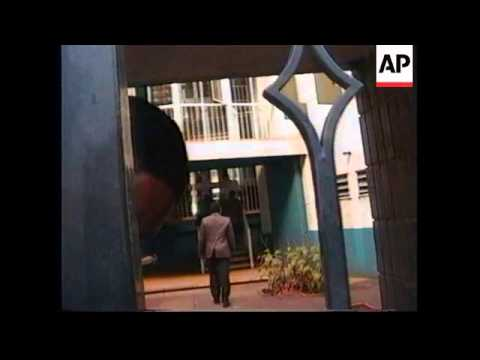 ZIMBABWE: FORMER PRESIDENT CAANAN BANANA GOES ON TRIAL