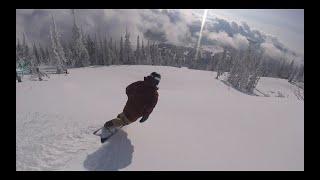 Солнечный сноубординг в Шерегеше 1 ноября 2020