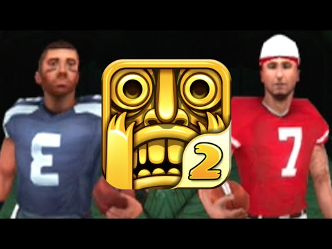 Temple Run 2: MONDAY NIGHT FOOTBALL!!! New Russell Wilson and Colin Kaepernick Football Characters