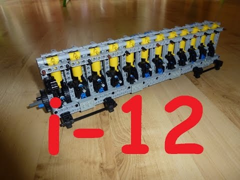 (re-upload) Lego LPE Inline 12 sys pneumatic engine