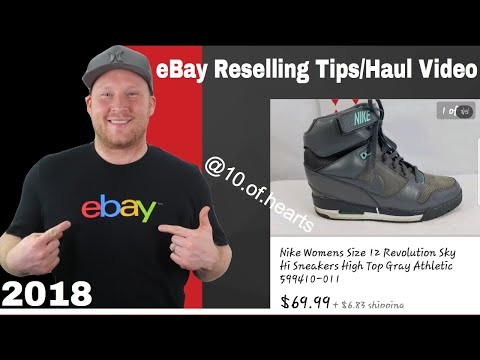 eBay Resellers Tips And Haul Video