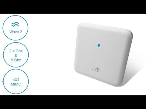 The Cisco 1850 Series Access Point - Customer version - YouTube