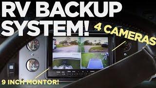 4 Camera RV Backup System  Install and DEMO!