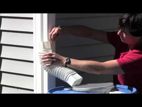 Rutgers NJAES Cooperative Extension:  How to Install Your Rain Barrel