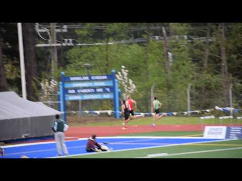 2017 Shoreline Invitational boys 400 heat 5