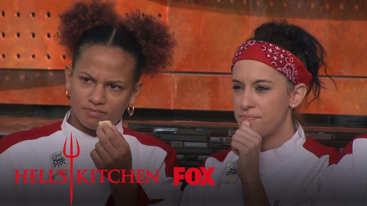 Blind taste test pt 1 season 15 ep 12 hell 39 s for Hell s kitchen season 15 episode 1