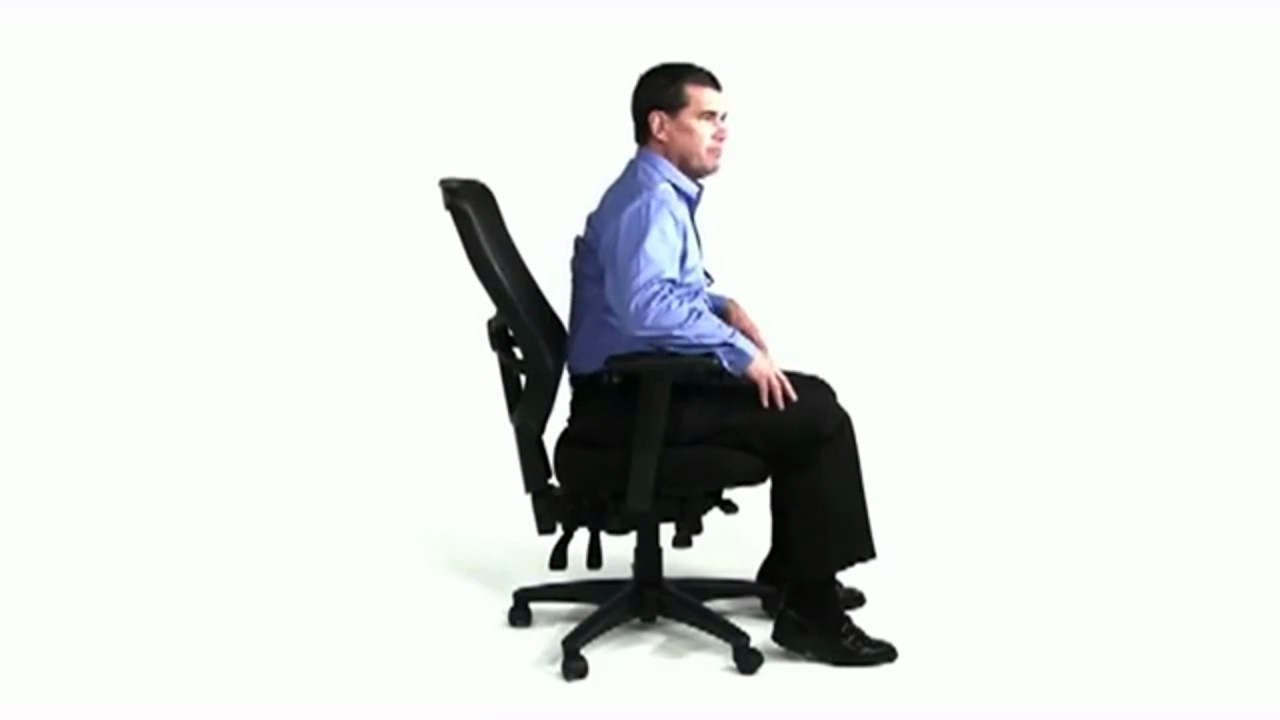 Manufacturer Video Of The Alera Elusion Series Mesh Mid Back Multifunction  Chair, Black