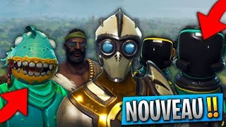 OBTENIR THE PROCHAINS NEW SKINS OF THE 4.2 IN AVANCE on Fortnite: Battle Royale! (Tuto)