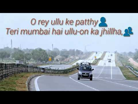 Beegi billi Teri dilli Rap in Hindi Delhi vs Mumbai WhatsApp status video