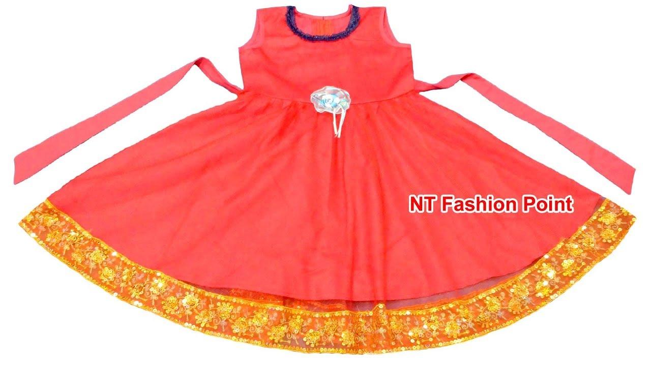 36fa27110aec Top Pakistani beautiful baby girls frock cutting & stitching | Kids  beautiful baby dress