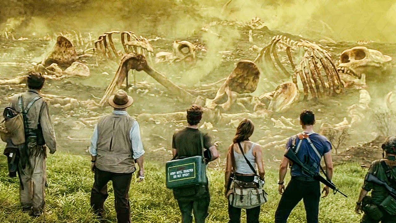 Download Graveyard of Kong's Parents Scene - KONG: SKULL ISLAND (2017) Movie Clip