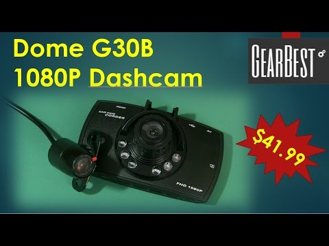 Dome G30B Dash And Backup Cam From GearBest