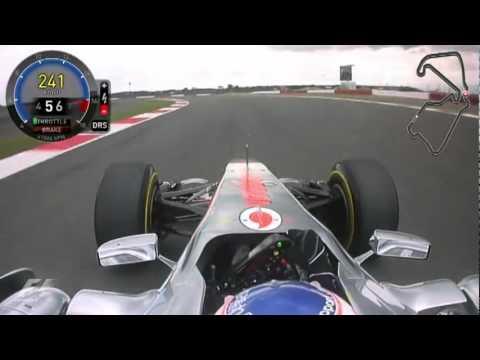 F1 Onboard 2011 - Silverstone - Button