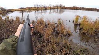 Удачная охота по утке и рябчику с подхода Охота поздней осенью на северную