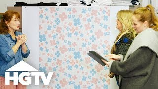 Building Brady: Designing the Girls' Bedroom - HGTV