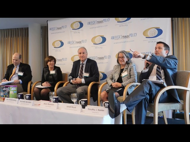 1/26/17 Border Adjustment Taxes, Tax Reform and Trade: Panel 2 Discussion and Q&A