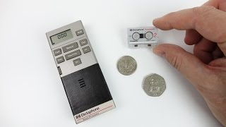 The Picocassette - Smallest Analogue Cassette Tape ever made