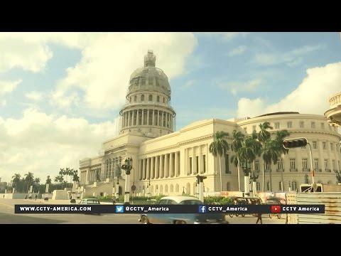Havana's iconic Capitolio building being restored
