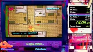 Hotline Miami 2: Wrong Number Speedrun any% NG+ in 37:14 ( World Record )