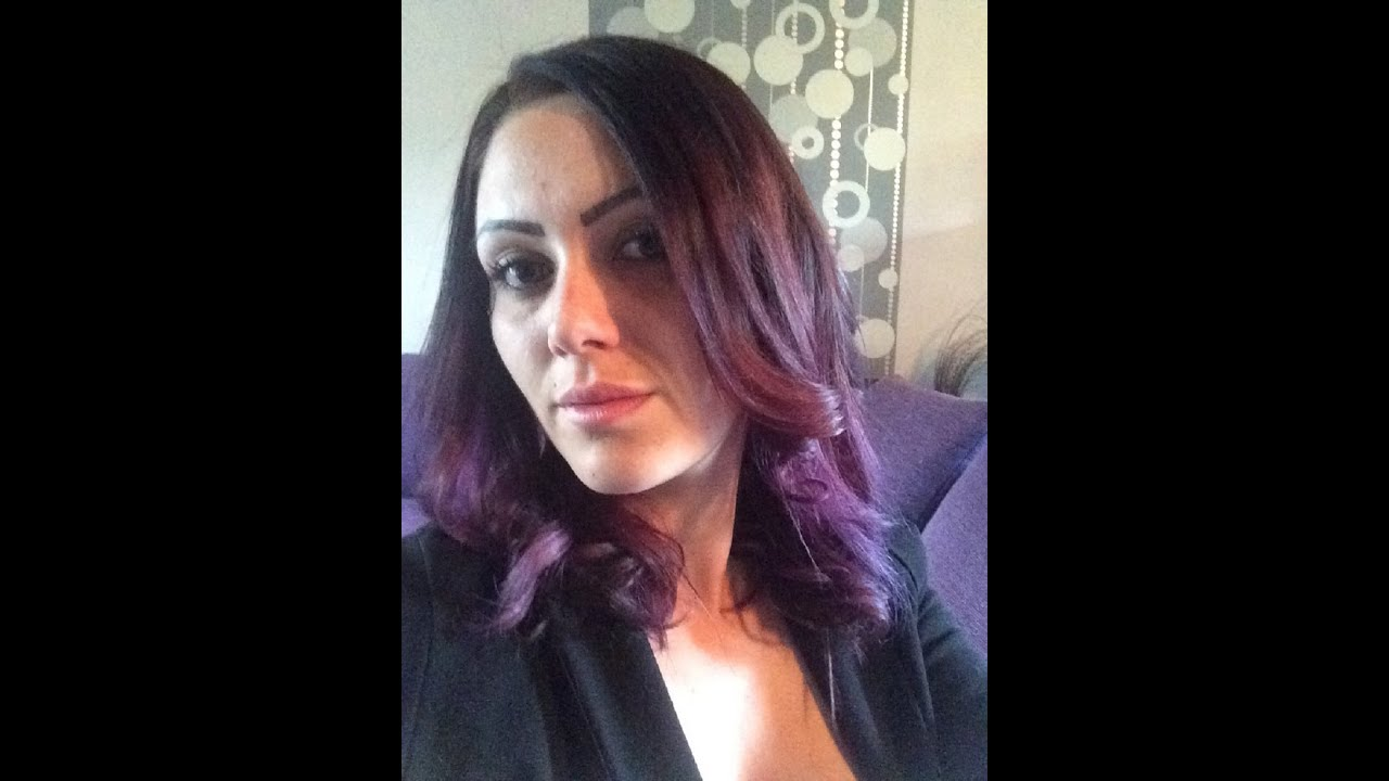 comment jai chang la couleur de mes cheveux suite - Coloration Violine Soie