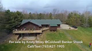 Log Cabin Home For Sale, Thorntown, In.