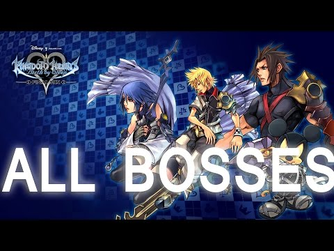 Kingdom Hearts Birth by Sleep: All Bosses (PS3 1080p)