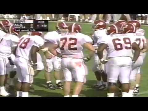 1997 Outback Bowl - #15 Michigan vs. #16 Alabama (HQ)